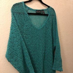 Brand new light knit top